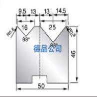50-46双V折弯模