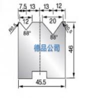 2V同芯折弯机模具