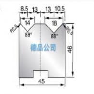 45-46双V折弯模